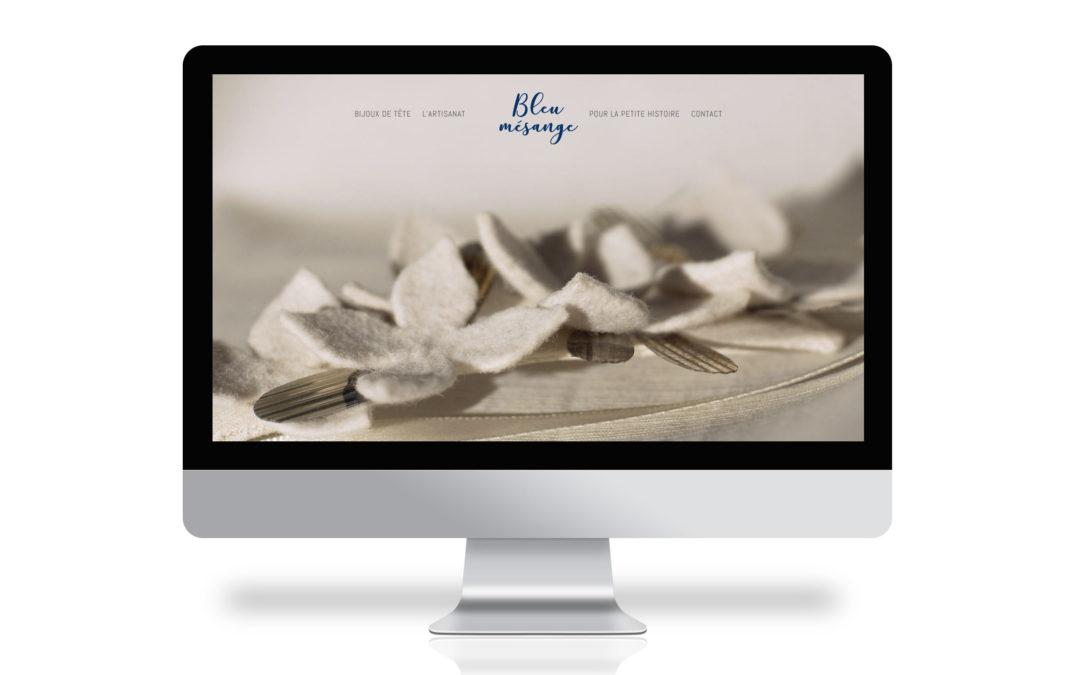 Bleu Mésange – Identité visuelle et site web