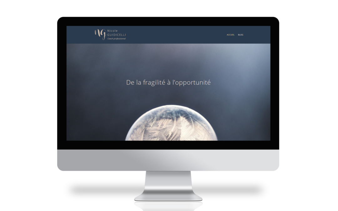 Nicole Guidicelli – Identité visuelle et site web